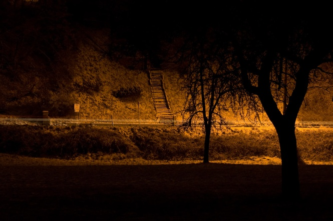 Stairs at Night